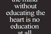 Quote from aristotle / Educate yourself