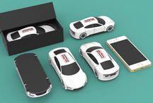 Powerbank Sonderformen / Wir produzieren für gewerbliche Kunden Powerbanks in Form dessen Logo oder als eines ihrer Produkte.