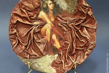 Тарелки / Декупаж, декорирование, роспись тарелок