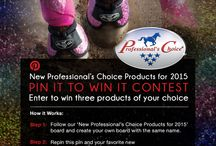 New professional choice products for 2015