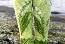 strikket sokker