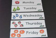 Grovedale West PS / Days of week, months of year