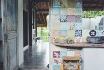 tiles and stones
