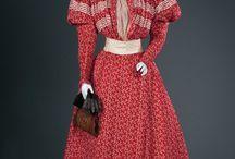 Women's Clothes c1887 - c1912
