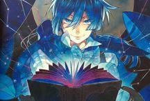 Vanitas no carte / Les mémoires de vanitas /   The Case Study of Vanitas is a shōnen manga series written and illustrated by Jun Mochizuki who wrote Pandora Hearts.  https://en.wikipedia.org/wiki/The_Case_Study_of_Vanitas
