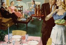 1950's Dinner Party