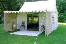 Festival - tenten en aankleding