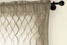 curtains home sewing / by Rebekah Field