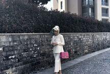 Minimal / Hijab, modern, minimal, skirt, islamic fashion, Turkish fashion