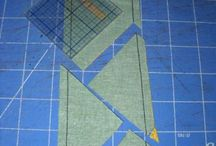 Quilting - Half Square Triangles