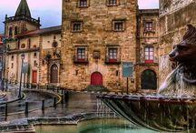 Lugares en Asturias