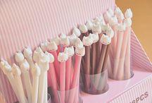 cute school supplies / by lnnn