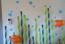 Under the Sea Party / This Under the Sea party theme is perfect for a Finding Nemo, or Finding Dory party. For the shark, dolphin or crab enthusiast, or perfect for a water themed summer birthday or Aquarium party.