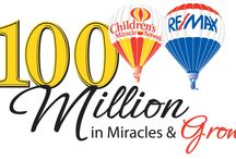 RE/MAX Gold Cares / We are the change we want to see in the world.  Make A Wish Foundation, Children's Miracle Network, Toys For Tots, RE/MAX Relief Fund, Loaves & Fishes Food Banks, Shriners Hospital, Local Habitat For Humaninty, Race For The Cure and More...