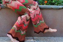 pantalones tejidos