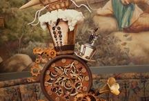 Steampunk wedding cakes and more