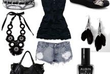 Black / by Ally White