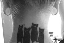 Black & Grey Tattoos We Like