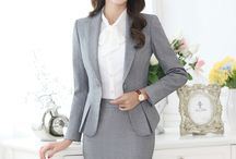 Asian Professional Skirt Suits