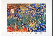 Van Gogh Flowers Garden Wall Decor Art Print Posters