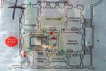 Petit Trianon - Plans