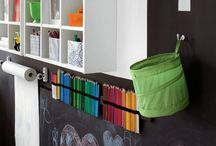 W & P / Different room combinations for kids rooms.