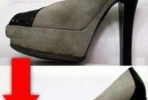 limpiar zapatos ante
