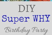 Super Why birthday