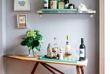 Bartender. / Creating our ideal home bar. Ways to accessories, and recipes to inspire.  / by Olivia Leblanc