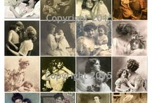 Mother's Day Collage Sheets