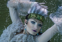 Russian Mermaids - underwater fashion shoot / Photo: Vivien Borzi Styling: Gabriella Parádi Make up: Fibi Véger Hair stylist: János Haller Modell: Lili Papp