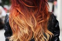red ombre ^^