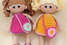 bambole uncinetto
