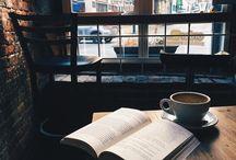 cafe + libro