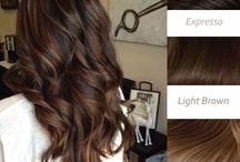 hår farve
