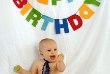 Declan's first birthday!!