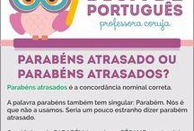 Dicas de Português / Confira dicas para não errar mais.