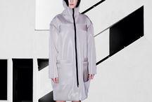 Works / MODEL: VIKTORIE SEDLAROVA FASHION: LE VIET TRINH PHOTO: LE VIET TRINH #minimalist #minimalism #mode #design #architecture #clean #white #student #fashion #sportwear #womanwear #czech #modern