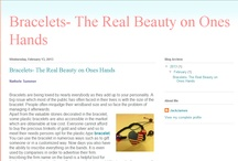 Bracelets- The Real Beauty on Ones Hands - Atom""