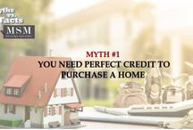Homeownership Month / Cheers to Homeownership month! As we approached the end of June, we'd like to break common stereotypes about buying your Home. Follow us to see a new fact every day!