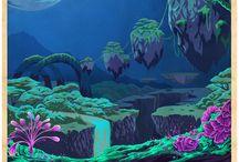 Storyworld Graphic design