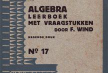 Amsterdamse School boekomslagen / De Amsterdamse School heeft niet alleen een stempel gedrukt op de architectuur. Er zijn veel boekomslagen in die stijl gemaakt, vooral voor leerboeken in de technische sector.