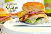 Burger Sandwiches