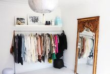simple clothing space