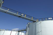Walkways / Catwalks / walkways providing safe access in the storage terminal industry.
