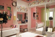 Girl's bedroom inspiration / Inspired by my daughter, Summer. / by Samantha Ley