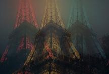Paris - Eiffel Tower  / by Sharon Moroz