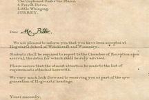 hogwarts letter