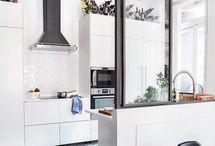 cozinha com pé alto