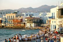 Mykonos means... / Mykonos means numerous sandy beaches, parties in one of the many beach bars and nightclubs and a sense to feel free to explore the most famous of the Cycladic islands. http://goo.gl/j1JqPM